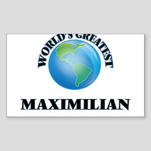 World's Greatest Maximilian Sticker