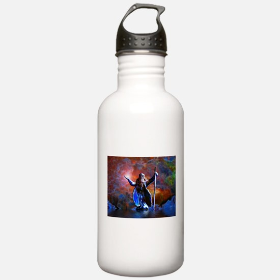 The Wizard And The Sea Water Bottle