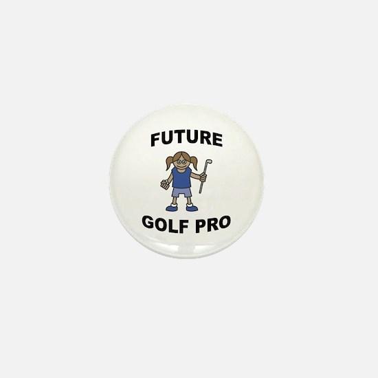 Future Golf Pro (Girl) Mini Button