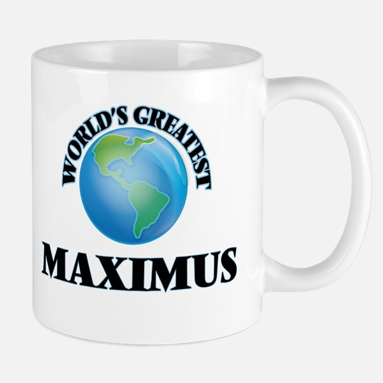 World's Greatest Maximus Mugs