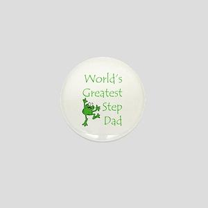 Greatest Stepdad Mini Button