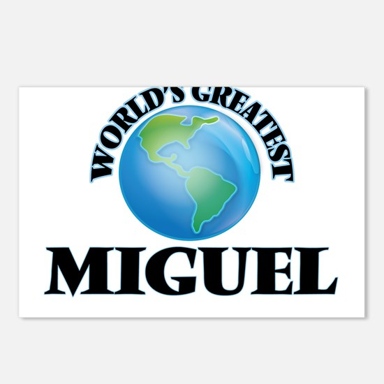 World's Greatest Miguel Postcards (Package of 8)