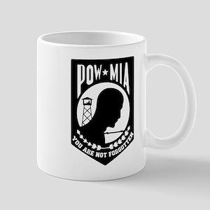 Pow Mia Emblem Mugs