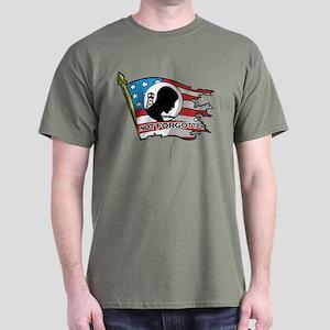 Pow Mia Not Forgotten Flag T-Shirt