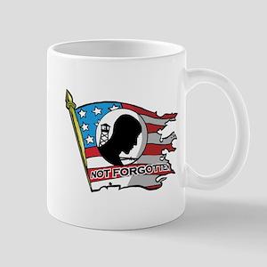 Pow Mia Not Forgotten Flag Mugs