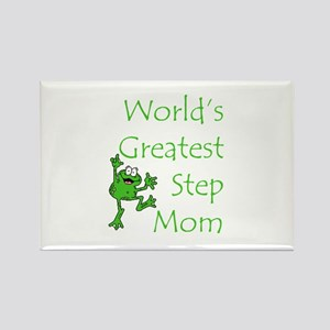 Greatest Stepmom Rectangle Magnet