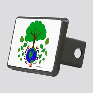 Earth Day Every Day Logo Rectangular Hitch Cover