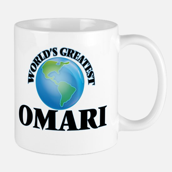 World's Greatest Omari Mugs