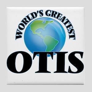 World's Greatest Otis Tile Coaster