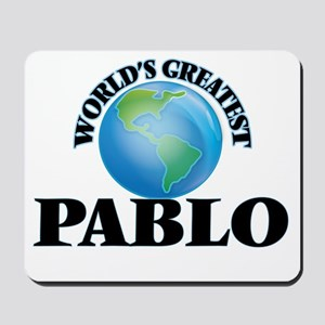 World's Greatest Pablo Mousepad