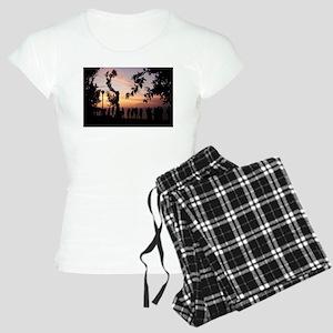People Watch the Sunset pajamas