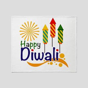 Diwali Throw Blanket