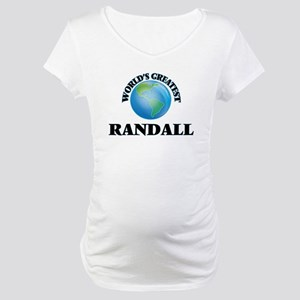 World's Greatest Randall Maternity T-Shirt
