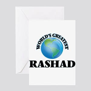 World's Greatest Rashad Greeting Cards