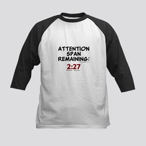Short Attention Span Humor Saying Baseball Jersey