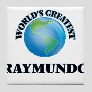 World's Greatest Raymundo Tile Coaster