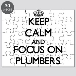 Keep Calm and focus on Plumbers Puzzle