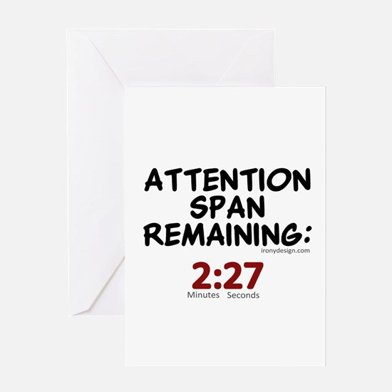 Short Attention Span Humor Saying Greeting Cards