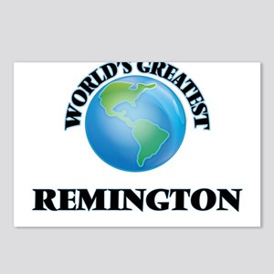 World's Greatest Remingto Postcards (Package of 8)