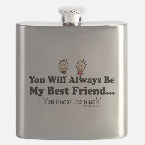 Best Friends Knows Saying Flask