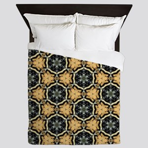Chic Abstract Animal Print Queen Duvet