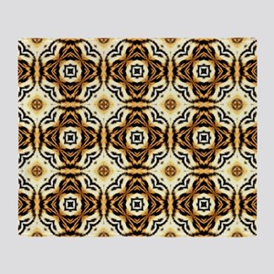 Chic Abstract Animal Print Throw Blanket