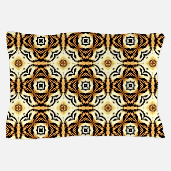 Chic Abstract Animal Print Pillow Case