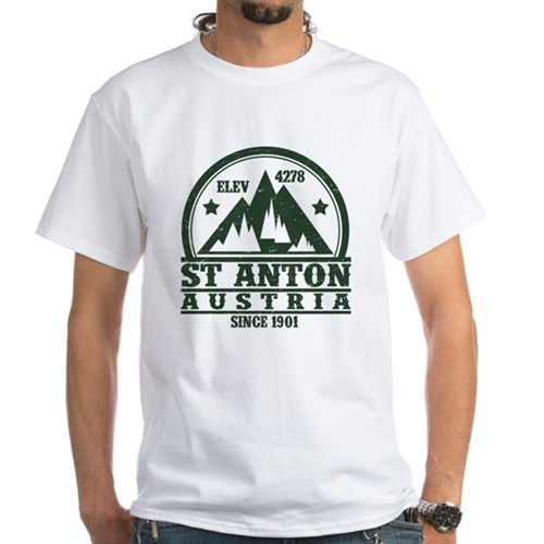 ST ANTON AUSTRIA NATIONAL PARKS SINCE 1901 T-Shirt