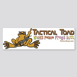 Tactical Toad Bumper Sticker