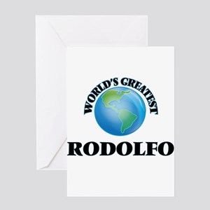 World's Greatest Rodolfo Greeting Cards