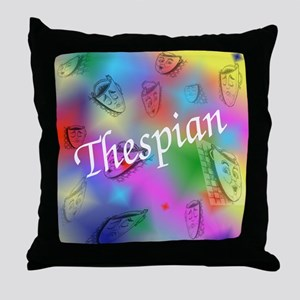Thespian Throw Pillow