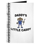 Daddy's Little Caddy (Girl) Journal