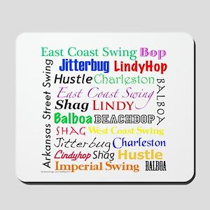 All Swing Dances Mousepad