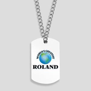 World's Greatest Roland Dog Tags