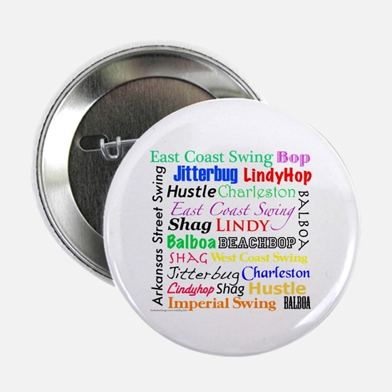 "All Swing Dances 2.25"" Button"