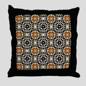 Chic Abstract Animal Print Throw Pillow