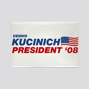 Dennis Kucinich for President Rectangle Magnet