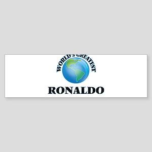 World's Greatest Ronaldo Bumper Sticker