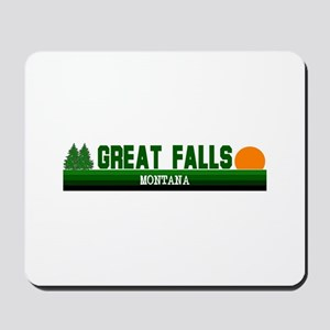 Great Falls, Montana Mousepad