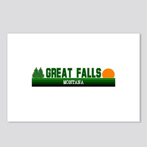Great Falls, Montana Postcards (Package of 8)