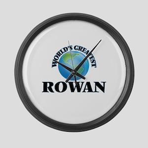 World's Greatest Rowan Large Wall Clock