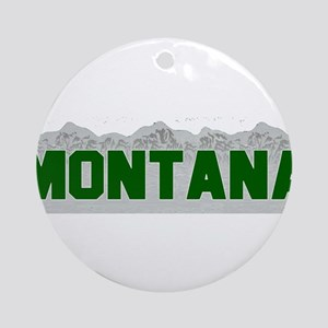 Montana Ornament (Round)