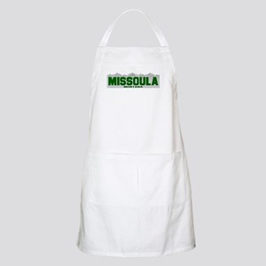 Missoula, Montana BBQ Apron