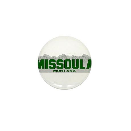 Missoula, Montana Mini Button (10 pack)
