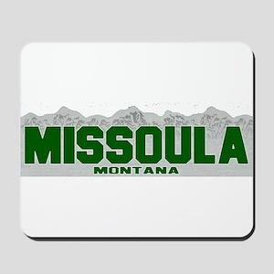 Missoula, Montana Mousepad