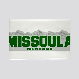 Missoula, Montana Rectangle Magnet