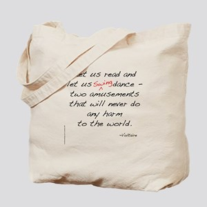 Voltaire On Swing Tote Bag