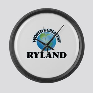World's Greatest Ryland Large Wall Clock