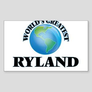 World's Greatest Ryland Sticker