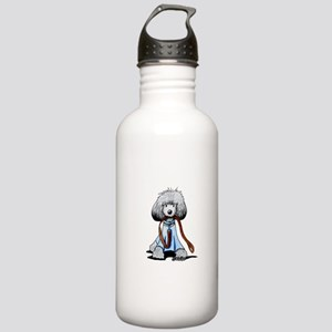 Emmylou Poodle Stainless Water Bottle 1.0L